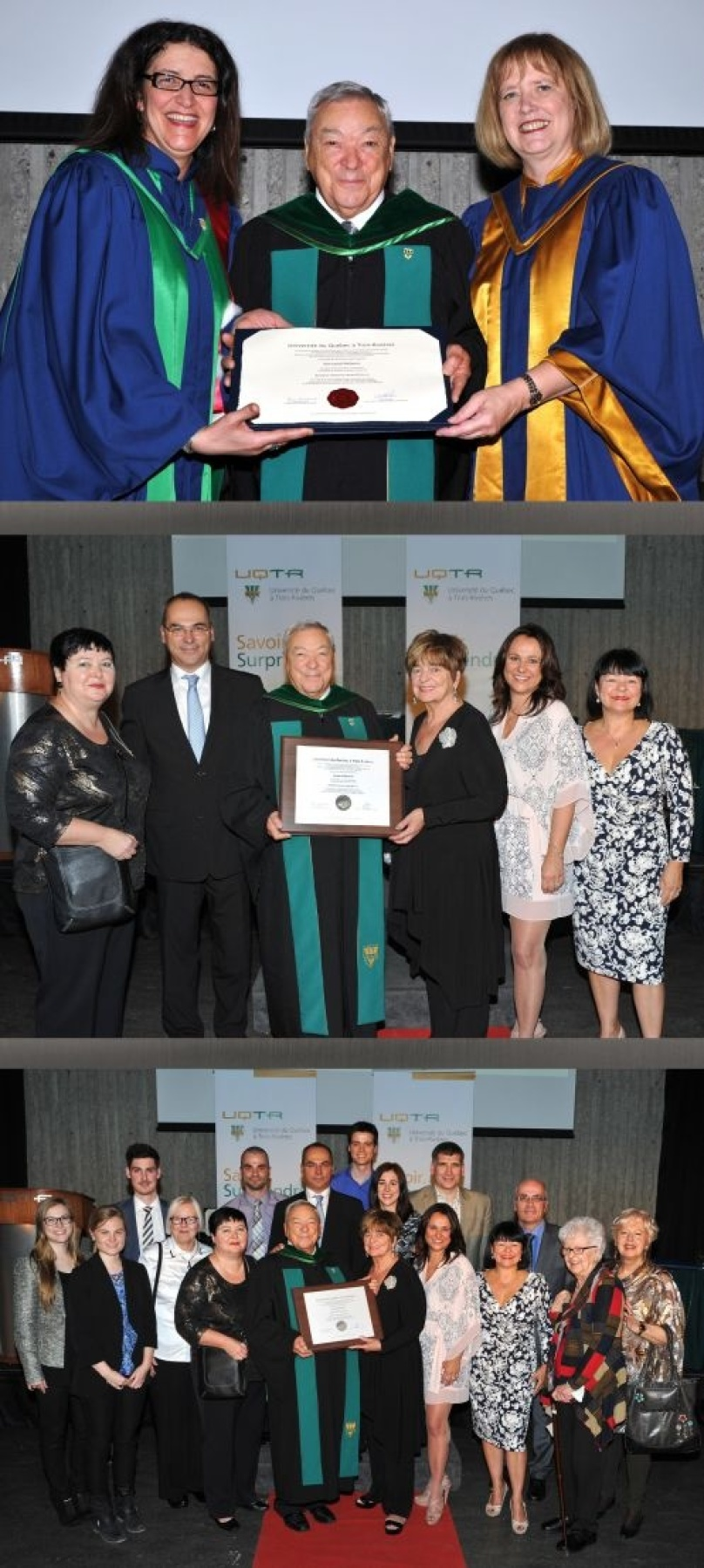 The founder of Marmen receives an honorary doctorate from the University of Trois-Rivières (UQTR)