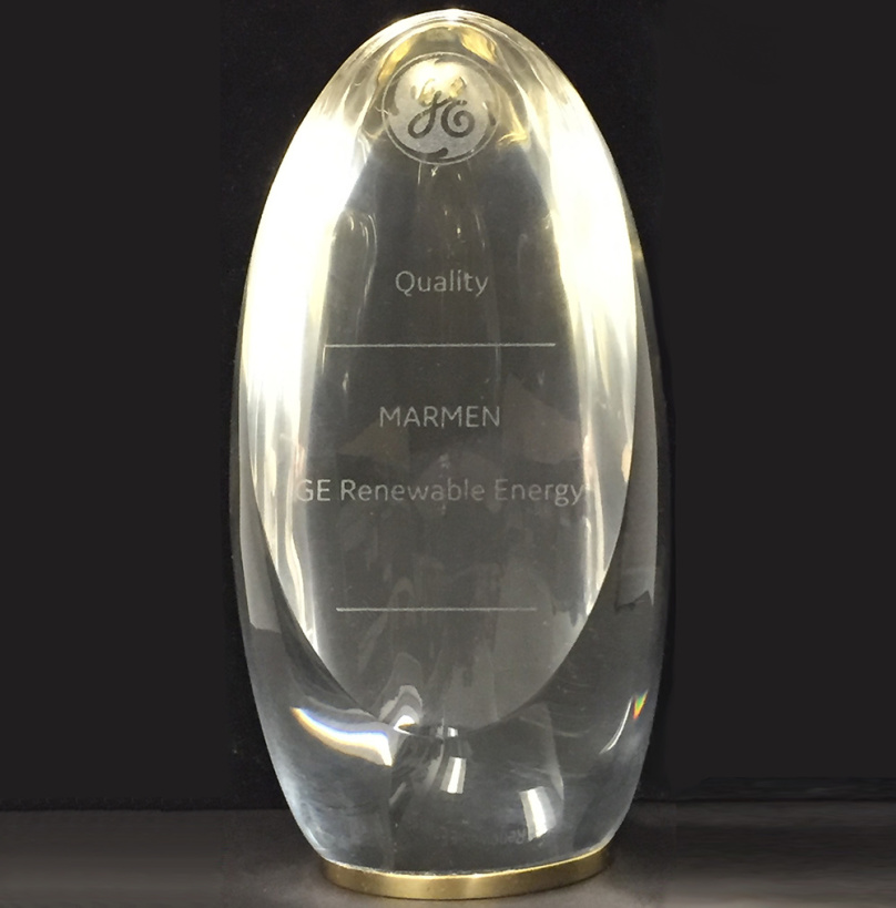 GE Quality Award of Excellence